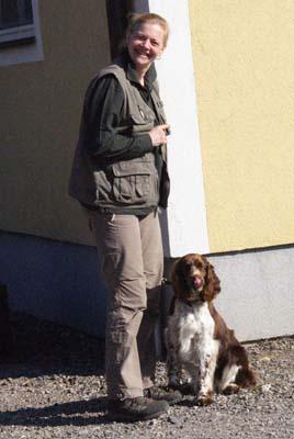 Angie mit Frau Taberhofer